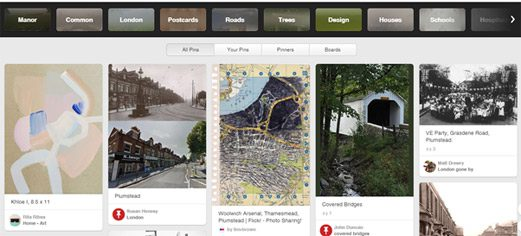 Pinterest local search for Plumstead