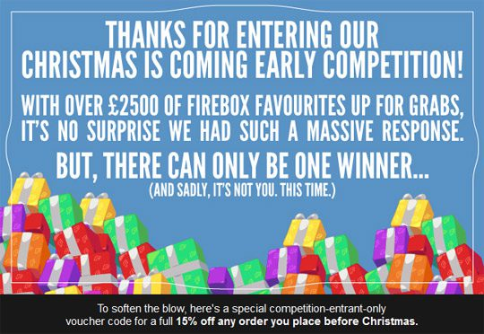 Firebox competition call to action