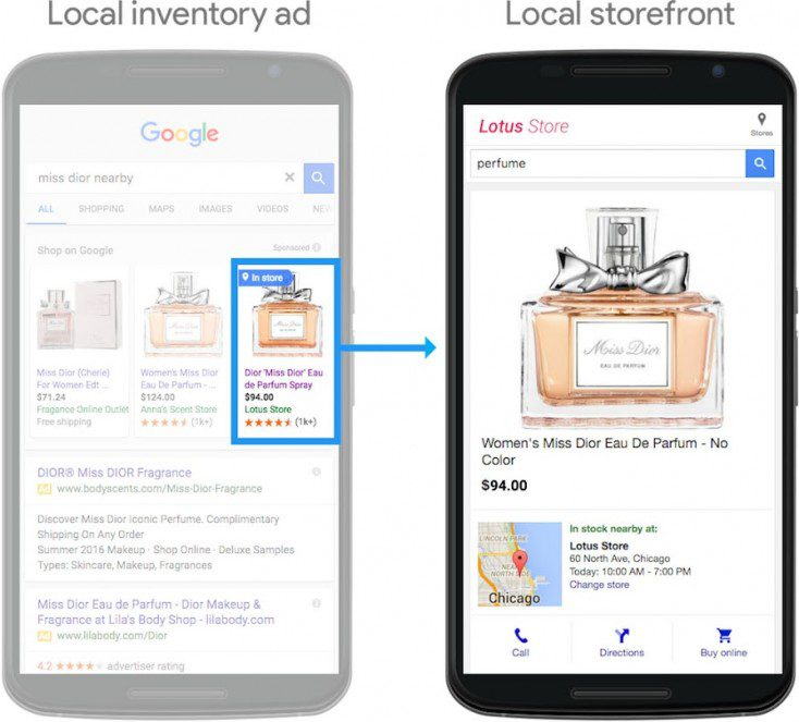Local inventory ads lead to in-store purchases