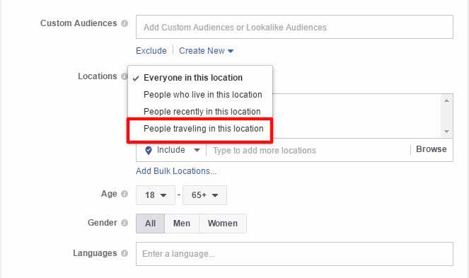 Facebook targeting micro-moments
