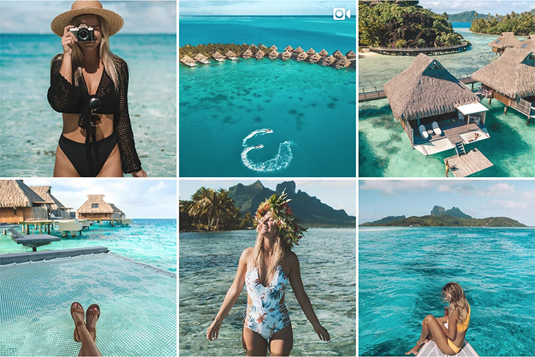 Instagram travel influencers sell destinations to target audiences