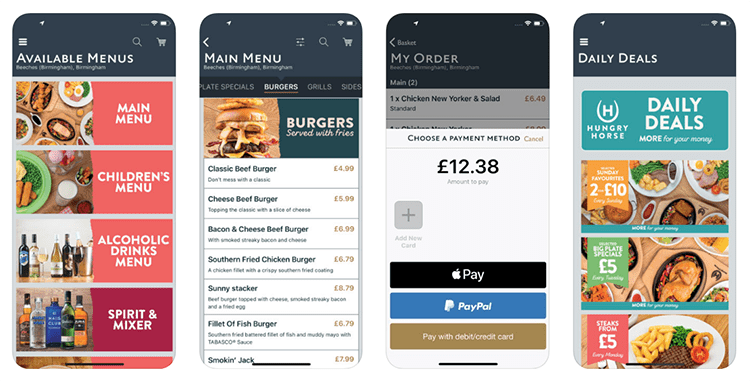 Starbucks app improving the instore experience for customers