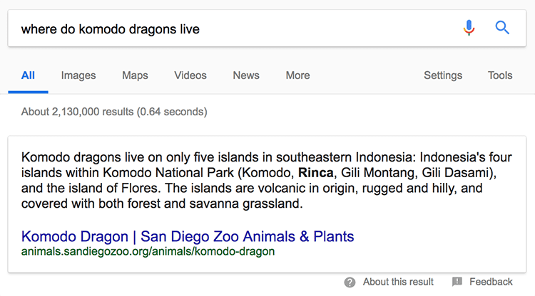 Search results for 'where do komodo dragons live'