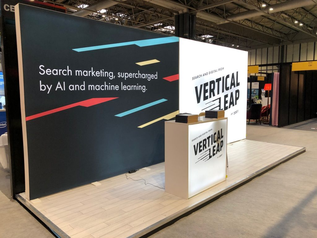 The Vertical Leap stand at the Festival of Enterprise