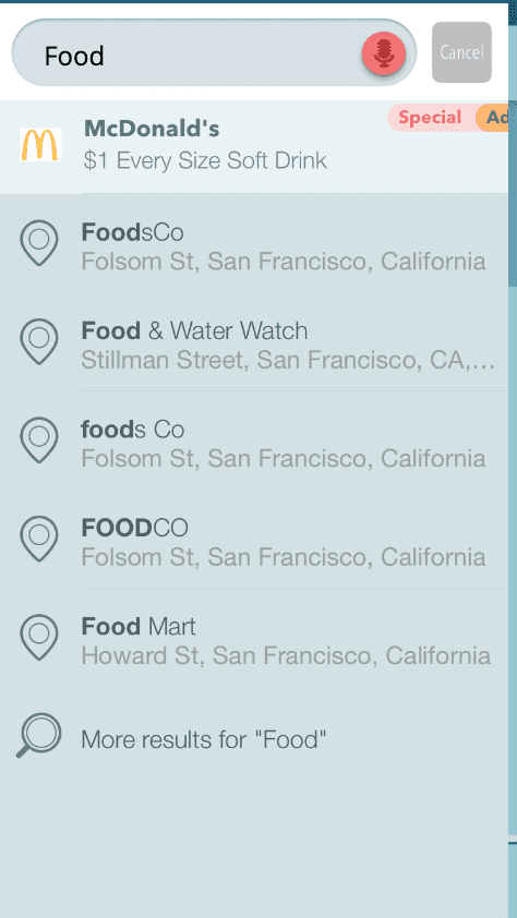 Waze Local Promoted Search
