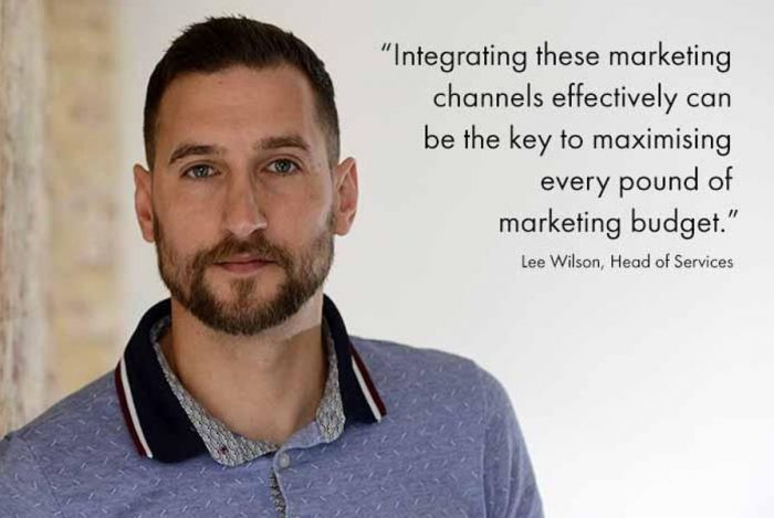 Quote from Lee Wilson about integrating SEO and PPC