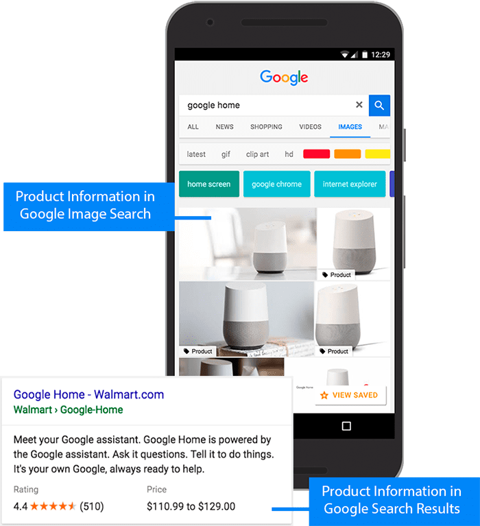Rich results on Google for product listings