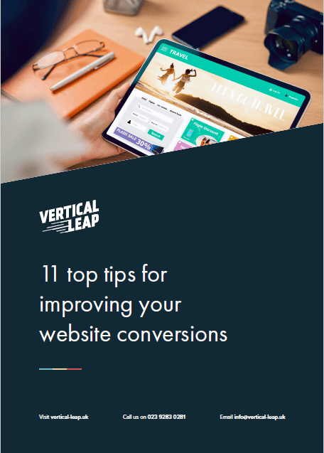 Guide - 11 top tips for improving website conversions