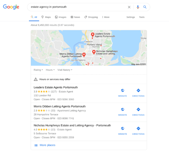 Search results for estate agency in Portsmouth