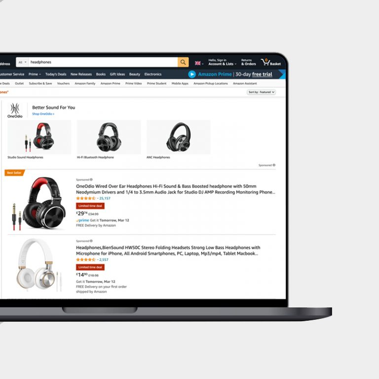 High-performing Amazon advertising campaigns
