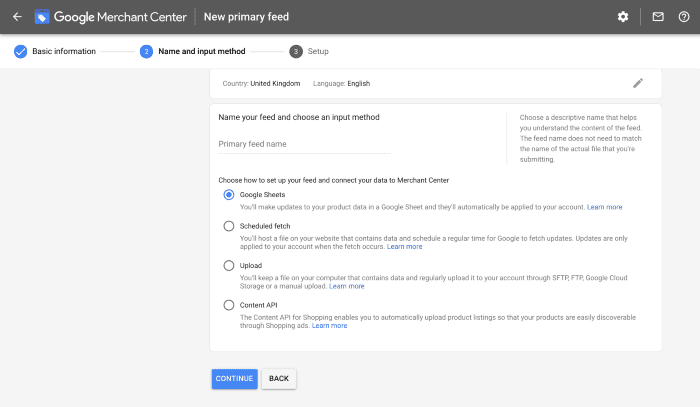 How to set up dynamic remarketing in Google Merchant Center