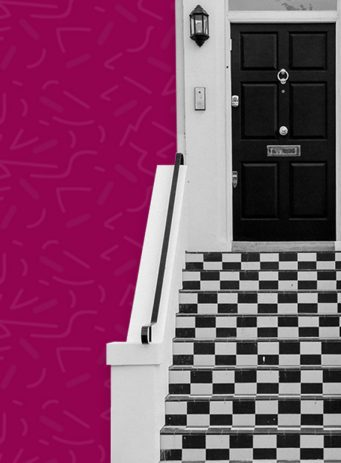 Property Personnel SEO PPC and content marketing case study image showing front door of a house