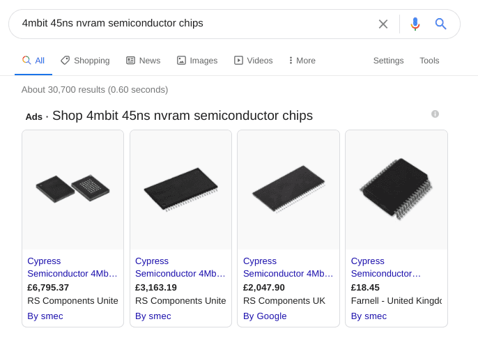 search results for chips