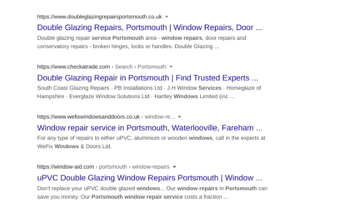 Optimise pages for local search