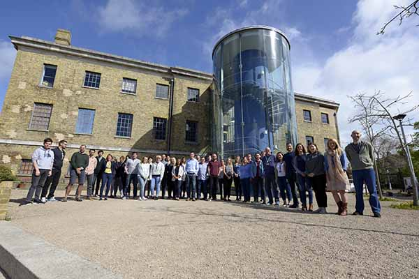 Vertical Leap team outside the office