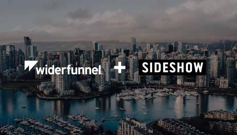 Widerfunnel joins the Sideshow Group