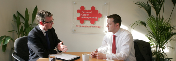 Outplacement career coaching interview