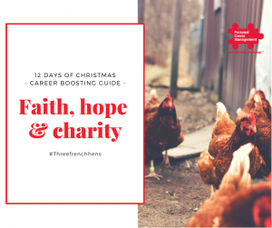 Faith, hope and charity - use Christmas as a reason to start volunteering